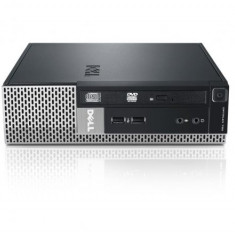 Calculator DELL Optiplex 790 Desktop USFF, Intel Core i5 Gen 2 2400S 2.5 GHz, 8 GB DDR3, 250 GB SSD NOU, DVDRW, Windows 10 Home, 3 Ani Garantie - Sisteme desktop fara monitor