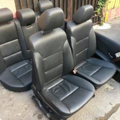 Interior, scaune piele electrice BMW E60 in stare foarte buna - Scaune sport, 5 (E60) - [2003 - 2013]