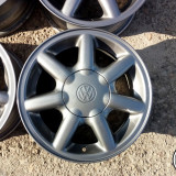 JANTE ORIGINALE VW 14 4X100 - Janta aliaj, Latime janta: 6, Numar prezoane: 4