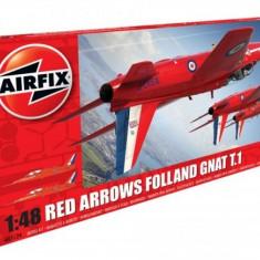 Kit Constructie Airfix Avion Red Arrows Gnat - Set de constructie