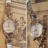 Ceas de dama Dolce & Gabbana Flock Silver - Ceas dama Diesel, Quartz, Piele