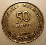 2.770 ISRAEL 50 PRUTA PRUTAH 1949, Asia, Cupru-Nichel