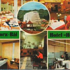 "CPI (B8957) CARTE POSTALA - SANGEORZ BAI, HOTEL ""HEBE"", Circulata, Fotografie"