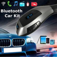 Modulator fm bluetooth X5 - Modulator FM auto, Modulator FM Stereo