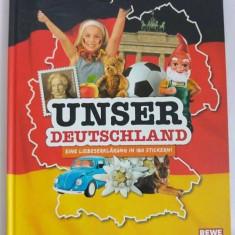 Album stikere (abtibild, autocolant) Germania, Unser Deutschland, REWE