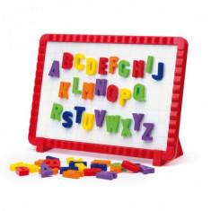 Joc Creativitate Quercetti Tablita Magnetica Litere Mari 48 Piese - Jocuri arta si creatie