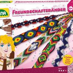 Set Creativ Pentru Copii Lena Bratarile Prieteniei - Jocuri arta si creatie