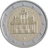 Grecia moneda comemorativa 2 euro 2016 - Manastirea Arkadi- UNC, Europa