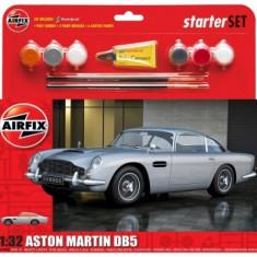 Kit Constructie Airfix Aston Martin Db5 Starter Set Scara 1:32 - Set de constructie