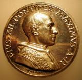 5.606 ITALIA VATICAN MEDALIE PAPA PIUS XII 1940 AN II ARGINT 39,4g MISTRUZZI, Europa