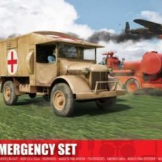 Kit Constructie Airfix Set 2 Masini Emergency - Set de constructie