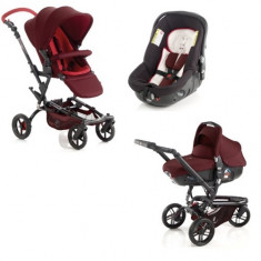 Carucior Trider Reverse Matrix Light Flame - Carucior copii 2 in 1 Jane