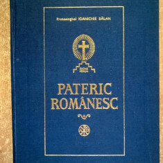 Ioanichie Balan - Pateric romanesc