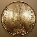 A.417 VATICAN PAPA PAUL VI 500 LIRE 1966 AUNC ARGINT 11g, Europa