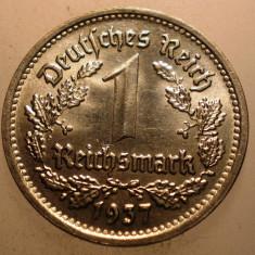 A.265 GERMANIA AL III-LEA REICH 1 REICHSMARK 1937 G AUNC, Europa, Nichel
