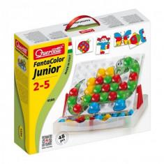 Joc Creativitate Si Indemanare Quercetti Fantacolor Junior Joc Mozaic Cu Imagini 48 Piese - Jocuri arta si creatie