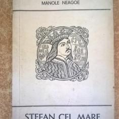 Manole Neagoe - Stefan cel Mare - Istorie