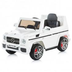 Masinuta Electrica Chipolino Suv Mercedes Benz G65 Amg White - Masinuta electrica copii