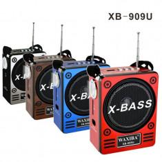 Radio portabil cu acumulator X-Bass - Aparat radio