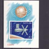 COSMOS SKYLAB, COLITA NEDANTELATA, 1974, MNH, ROMANIA. - Timbre Romania, Spatiu, Nestampilat