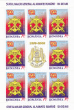 STATUL MAJOR GENERAL AL ARMATEI ROMANE,MINISHEET,2009, MNH,ROMANIA.