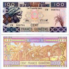 GUINEA- 100 FRANCS 2015 (2016)-  UNC!!