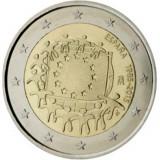 REDUCERE - Drapelul UE - Spania moneda comemorativa 2 euro 2015 - UNC, Europa