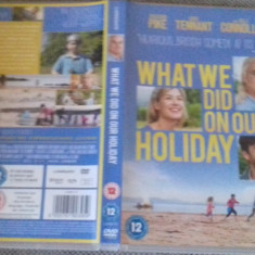 What We Did on Our Holiday (2014) - DVD [B] - Film drama, Engleza