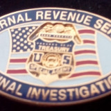 Insigna rever - U.S. Inernal REvenue Service