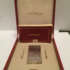 Bricheta Dupont argint masiv, stare perfecta, autentica - Bricheta de colectie