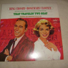 Bing Crosby/Rosemary Clooney-That Travelin' Two Beat-Capitol US vinil vinyl - Muzica Jazz capitol records