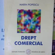Drept Comercial MARIN POPESCU - Spiru Haret - Carte Drept comercial