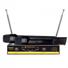 Microfoane wireless Weisre WM-06V cu 2 microfoane - Microfon