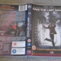 Save the last dance - DVD [B] - Film drama, Engleza