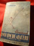 Salom Alehem - Romanul unui om de afaceri -Prima Ed. interbelic ,trad.I.Ludo