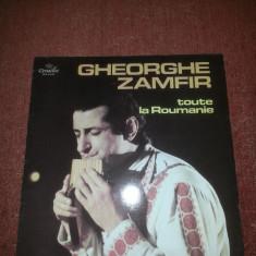 Gheorghe Zamfir-Toute La Roumanie-Versailles 1977 France vinil vinyl - Muzica Populara Altele