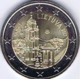 moneda LITUANIA 2 euro comemorativa 2017, UNC