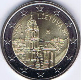 Moneda LITUANIA 2 euro comemorativa 2017, UNC, Europa, Cupru-Nichel
