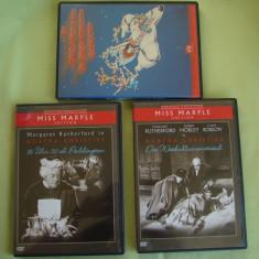 Lot 3 D V D-uri - Trenul de Paddington / Dupa Inmormantare - Agatha Christie - Film Colectie, Romana