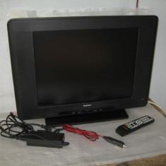 Lcd tv 51cm cu alimentare 220v si 12v auto, tir, rulota - Televizor LCD, HD Ready, Scart: 1, VGA: 1
