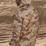 Geaca camuflaj de vant - Pulover barbati