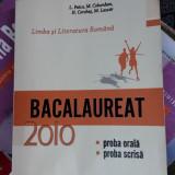 LIMBA SI LITERATURA ROMANA BACALAUREAT PROBA ORALA SCRISA -LASCAR - Teste Bacalaureat