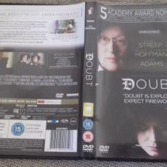 DOUBT - DVD [C] - Film drama, Engleza