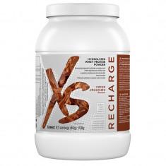 XS™ Hydrolyzed Whey Protein Powder - Gust de ciocolată și cacao - Produs masa musculara