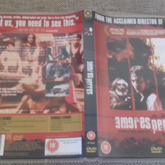 Amores Perros - DVD [B] - Film drama, Engleza