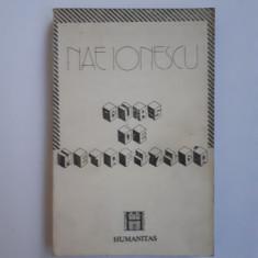 CURS DE METAFIZICA = Nae Ionescu - Filosofie