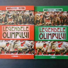 ALEXANDRU MITRU - LEGENDELE OLIMPULUI 2 volume - Carte mitologie