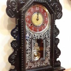 Ceas de birou cu pendul Astonia 1890