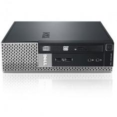 Calculator DELL Optiplex 790 Desktop USFF, Intel Core i3 Gen 2 2100 3.1 GHz, 4 GB DDR3, 320 GB HDD SATA, DVDRW, Windows 10 Pro, 3 Ani Garantie