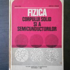 IULIU POP - FIZICA CORPULUI SOLID SI A SEMICONDUCTORILOR